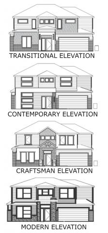 Aurora elevations